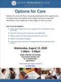 Options for Care August 12