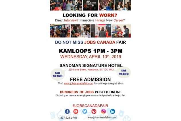 Kamloops Job Fair April 10th 2019 Kamloopsmatters Com