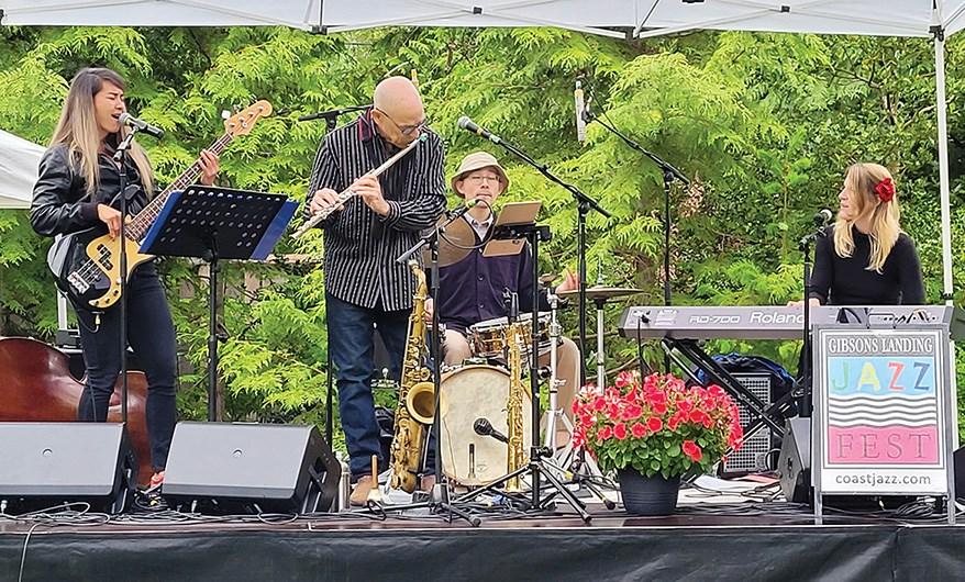 The Moss Quartet will kick off the virtual Gibsons Landing Jazz Festival on June 27.