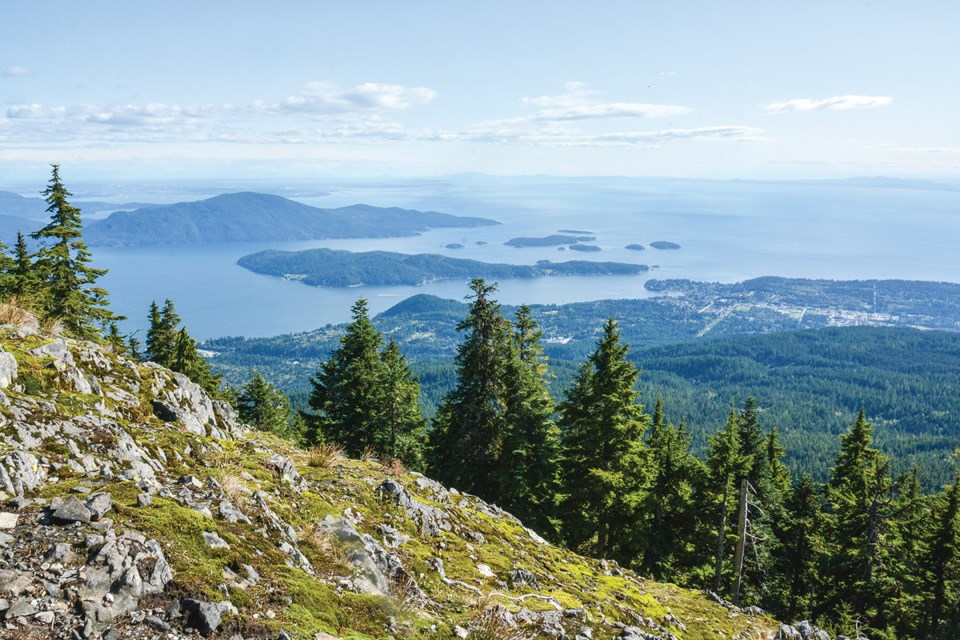 Mount Elphinstone is one of the 55 featured hikes in the recently released Destination Hikes In and Around Southwestern British Columbia guidebook.