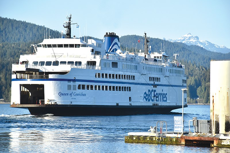 BC Ferries Queen of Cowichan