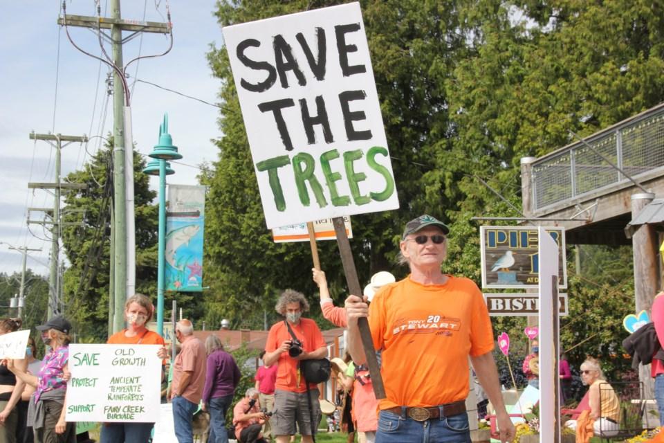 Davis Bay protest May 31
