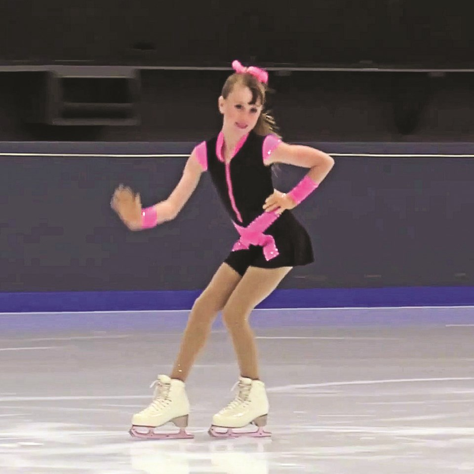 Isabella Watts skater