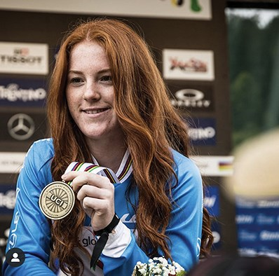 Gracey Hemstreet nabbed a bronze medal at her first world championship competition in late August.
