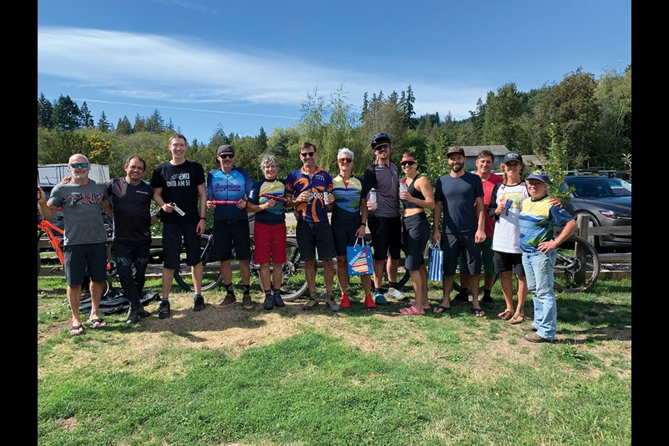 Winners in all categories, sponsors and organizers of the Brat Enduro, held Sept. 12.