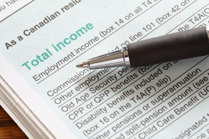 getty - tax return