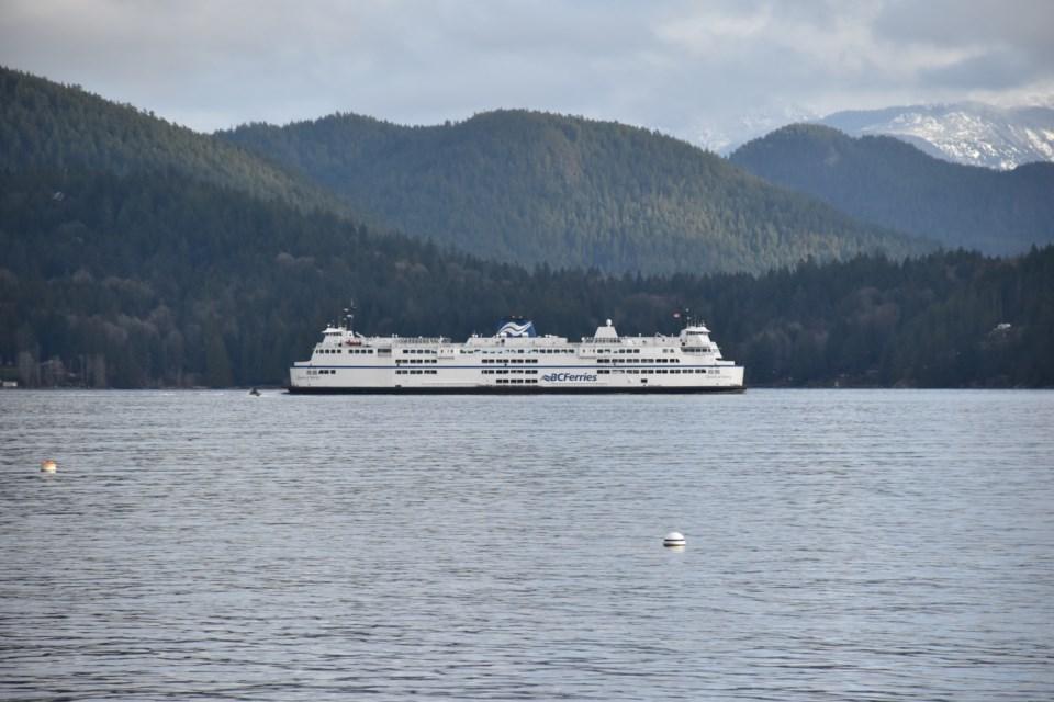 BC Ferries vessel