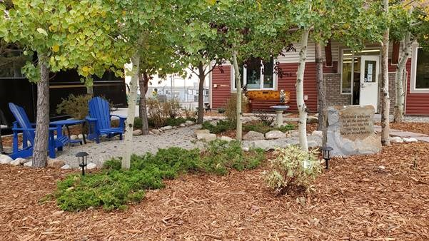 The Cochrane and Area Humane Society debuted their new memorial garden on Sunday (Oct. 4). Submitted Photo
