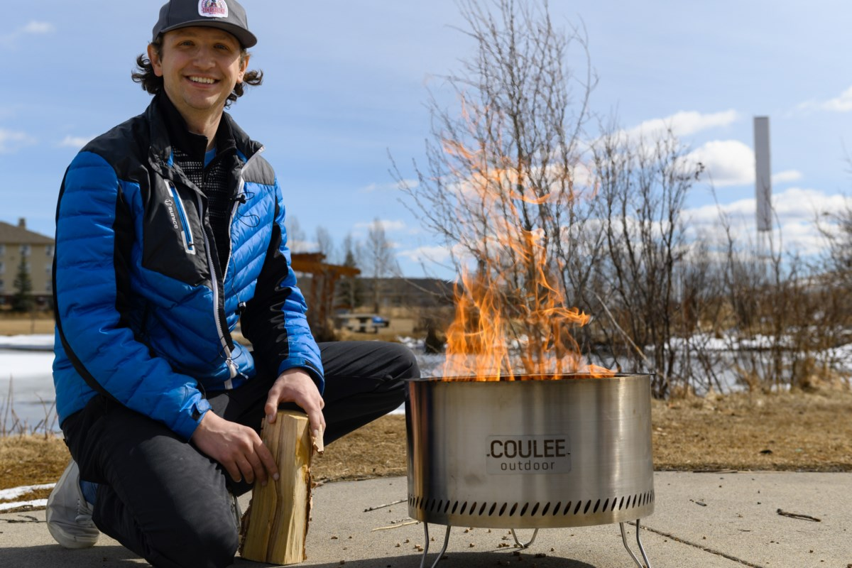 New Cochrane start-up brings smokeless fire-pits to town