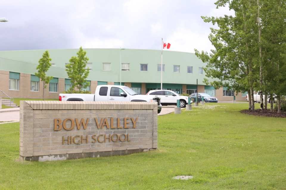 The Bow Valley High School expansion project was not among the 14 items announced by the Alberta Government on Wednesday (March 10).(Tyler Klinkhammer/The Cochrane Eagle).