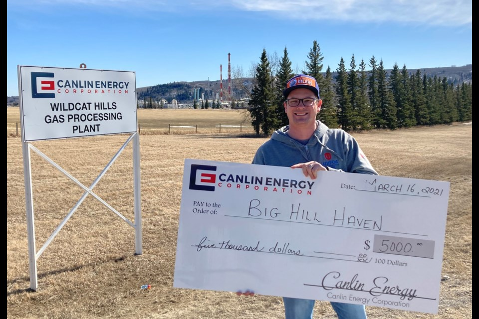Canlin Energy Corporation is a gold level sponsor of Big Hill Haven's new fundraising initiative BIZ 4 HER. Submitted Photo