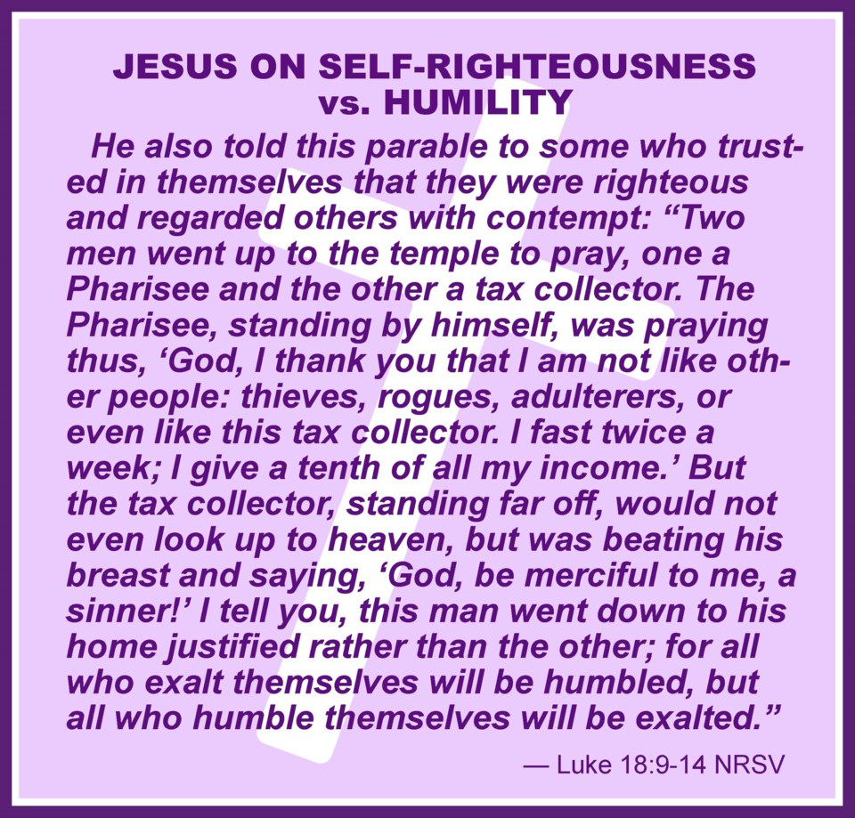 Collage-CWW210304-Luke 18 Self-righteousness-frm