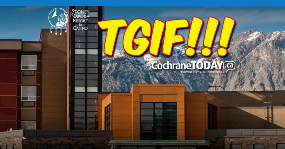 !TGIF Stoney Nakoda Resort 100 gift card