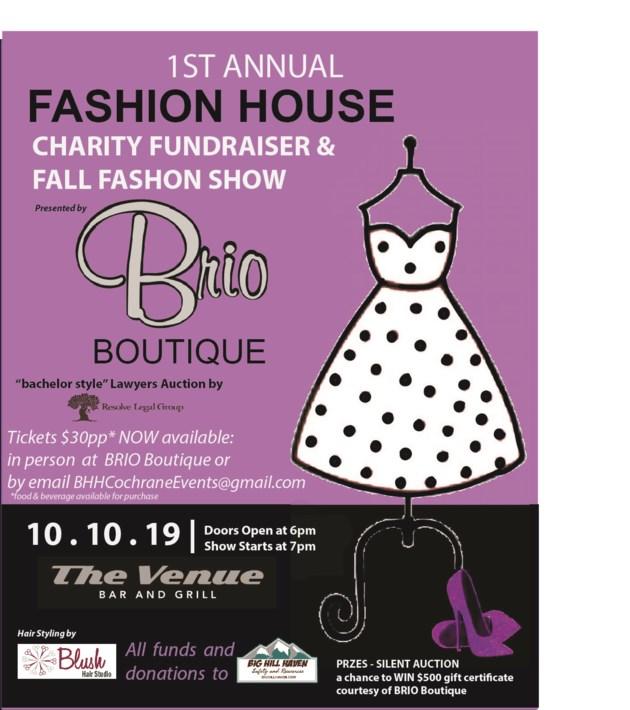 BRIO _Fashionshow_poster