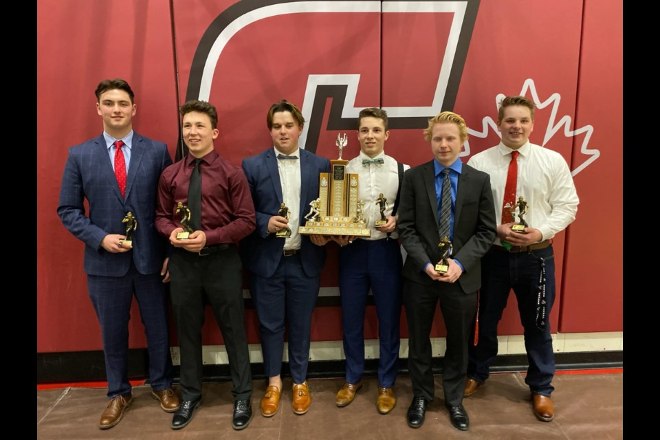 The Cochrane Cobras had six recipients of their team MVP award. 