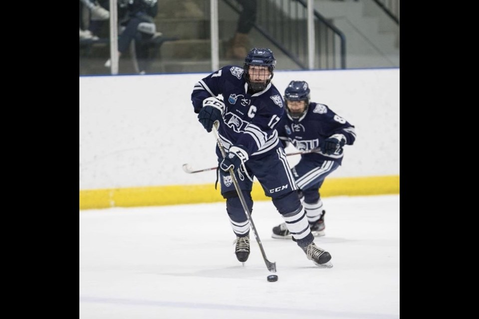 Daria O'Neill (pictured), Kate Hufnagel and Nicolette Seper will all be representing Mount Royal in the upcoming championship series.   Submitted Photo