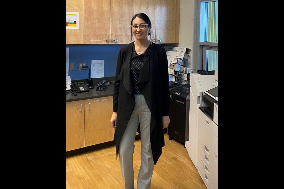 Nakoda Elementary principal Aimee Dixon. Submitted Photo