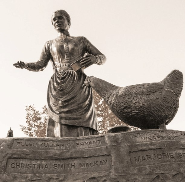 The Legacy Statue.