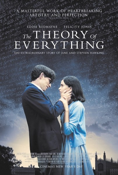 The Theory of Everything is the next Chinook Film Group offering.