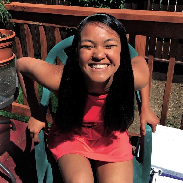Gizelle de Guzman will be shaving her head for grad to raise money for the Child's Voice Foundation.