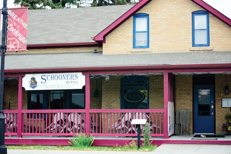 Owners at Schooners say hospitality attracts tourists.
