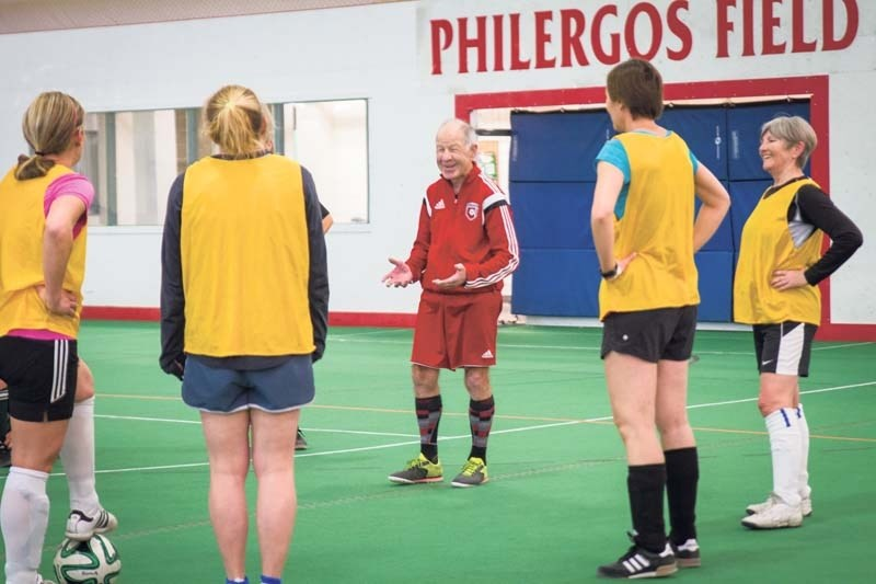Norman Sattler, 81, is being honoured after decades coaching soccer.