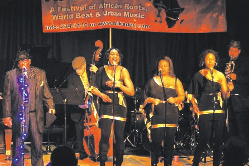 The Ray Charles Tribute Orchestra will be performing at the Cochrane Alliance Church Nov. 24 for the Cochrane Valley Folk Club.