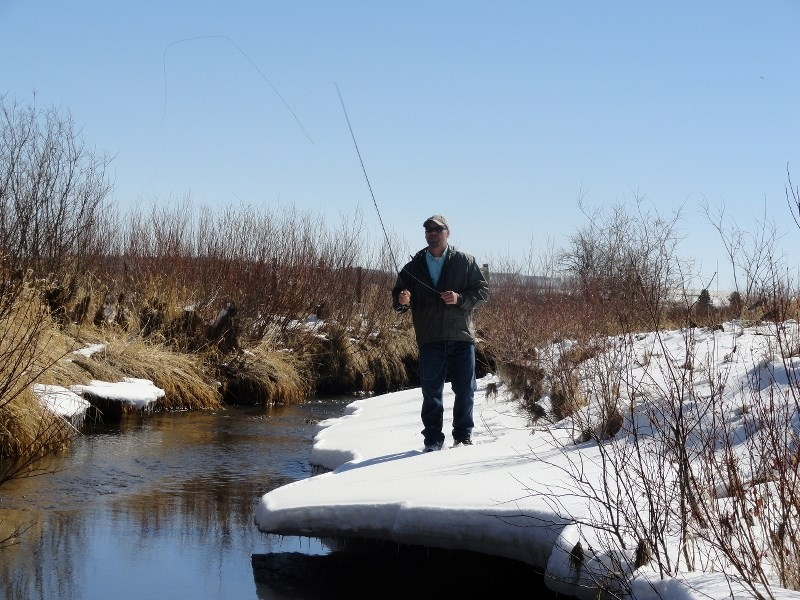 Mike Day is opening up a fly-fishing shop in Calgary.