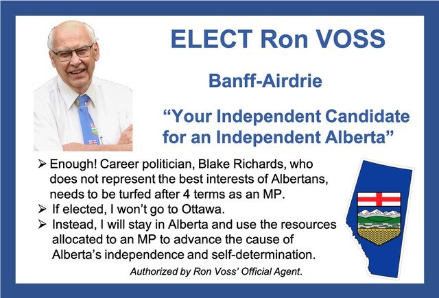 Ron Voss independent candidate