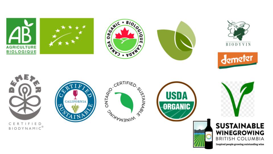 wine certification logos