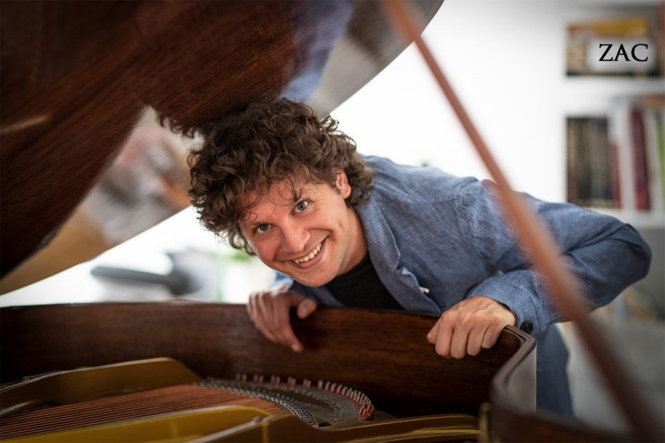 Daniel Vnukowski, Artistic Director of Collingwood Summer Music Festival.