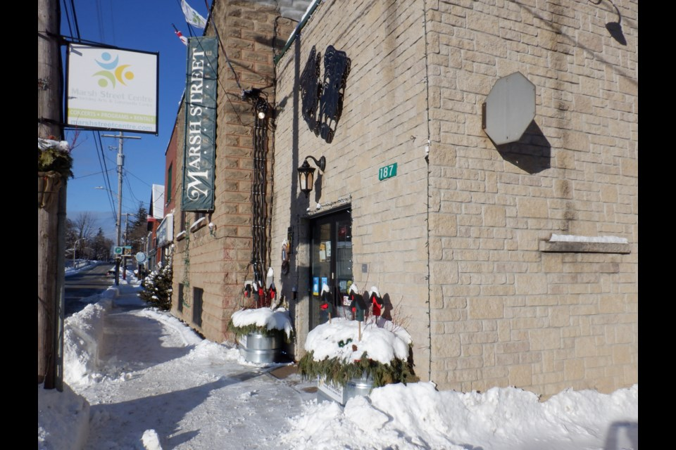 The Marsh Street Centre is a community-owned, non-profit organization managed by a group of dedicated volunteers that offers community programming and hosts local performing artists. Jennifer Golletz/ CollingwoodToday