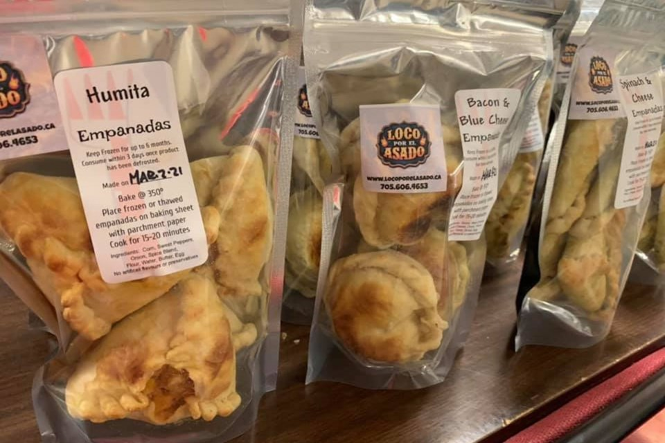 The famed empanadas can be found in several local stores scattered throughout South Georgian Bay.