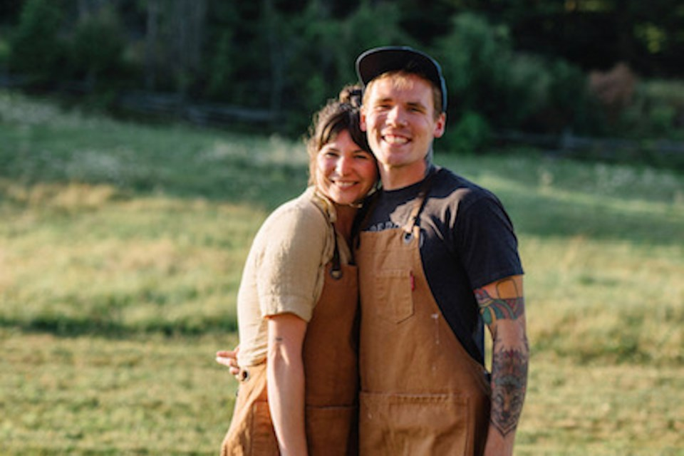 Hannah Harradine and Joel Gray, owners of Sumac + Salt, are the definition of a dynamic duo.