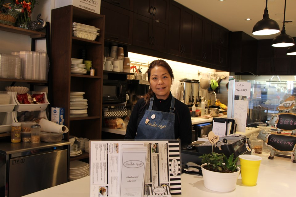 Charity Fung is excited to bring bubble tea to Collingwood. Maddie Johnson for CollingwoodToday