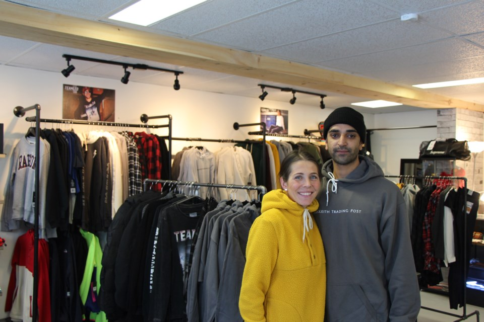 Opening the Craigleith Trading Post has always been a dream for Chelsea and Parm Sohal. Maddie Johnson for CollingwoodToday
