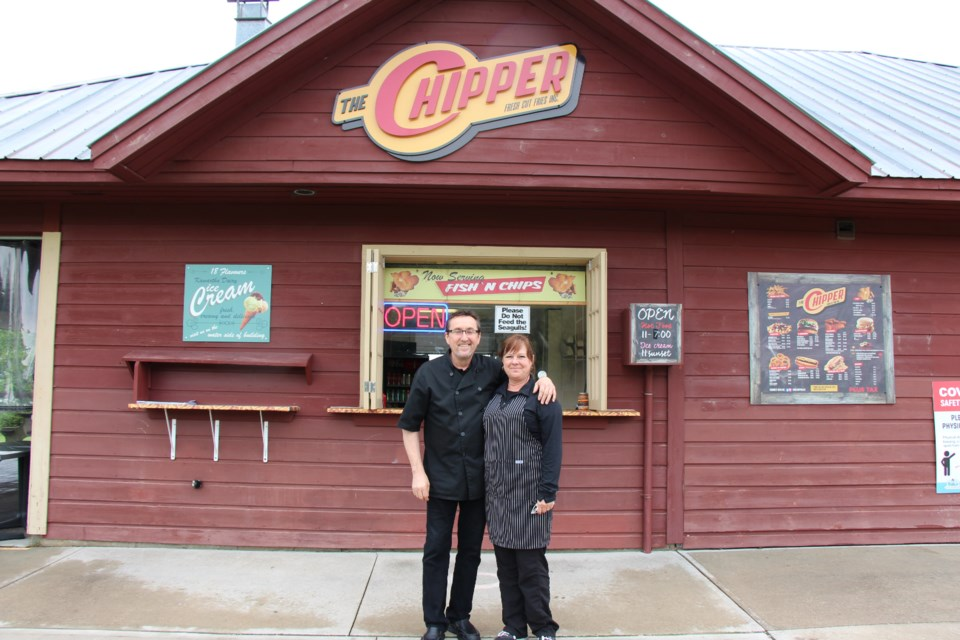 The Chipper opened in 2007 as a chip truck, and relocated into Sunset Point Park's building in 2015.