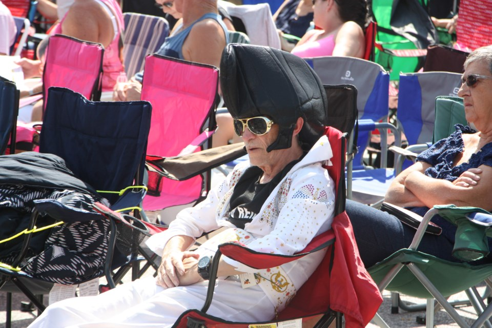 Elvis Presley fans flock to the Collingwood Elvis Festival, as shown in this file photo from last year's event. Erika Engel/CollingwoodToday