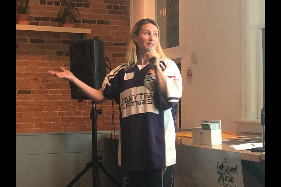 Tara Hunt shares her idea for Collingwood to earn the title of Greenest Community in Canada. Erika Engel/CollingwoodToday