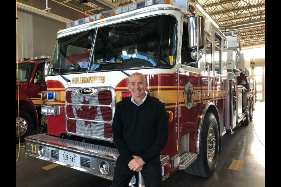 Deputy Fire Chief Dan Thurman Erika Engel/CollingwoodToday