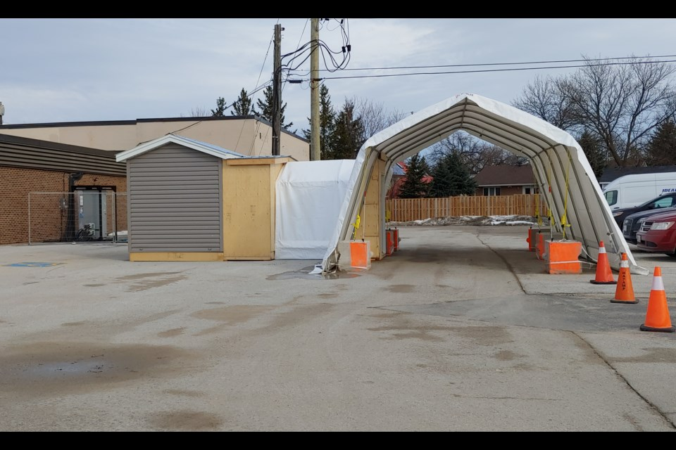 Collingwood and Wasaga Beach COVID-19 Assessment Centres are drive-thru and by appointment only.