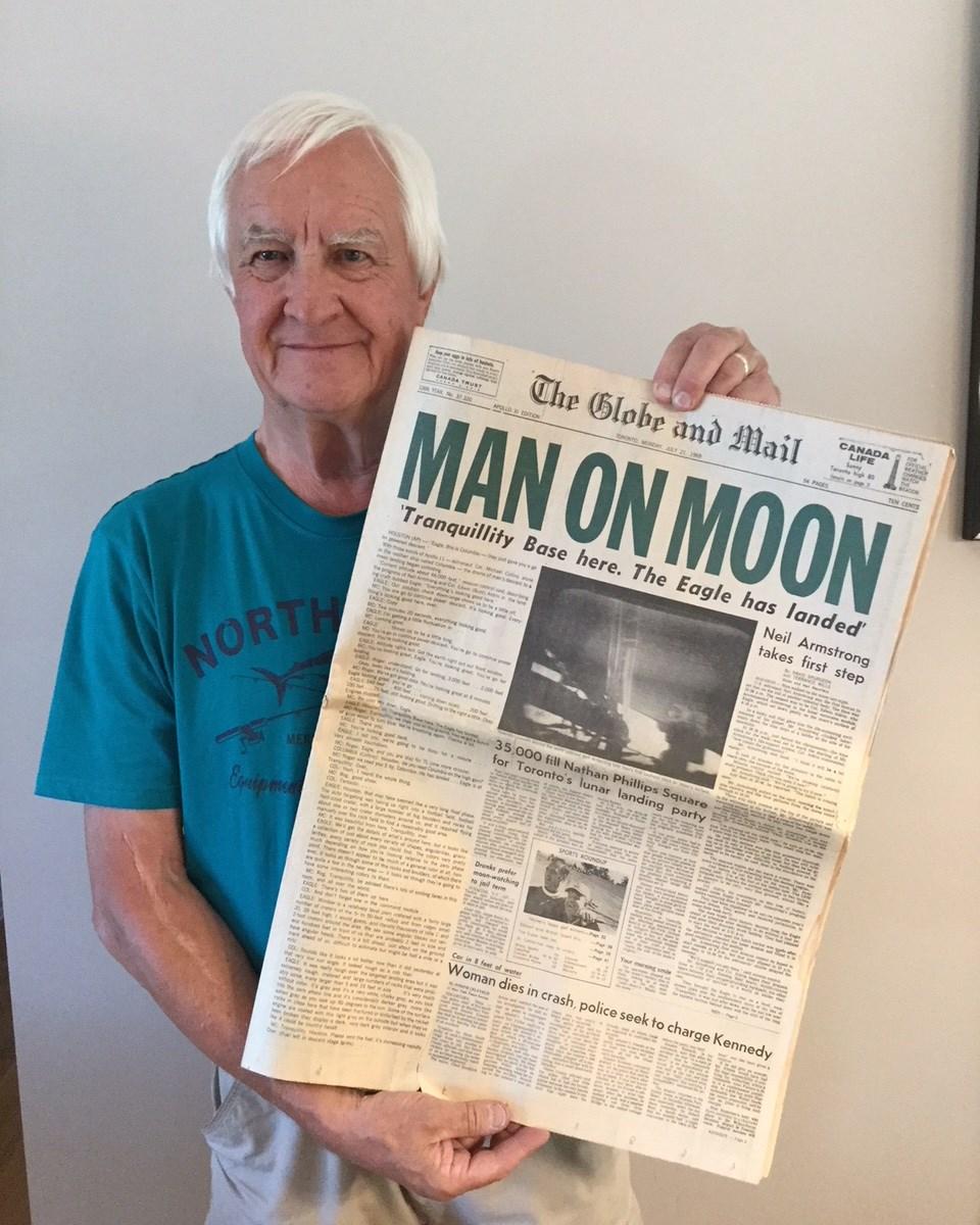 Former Packet Reporter Recalls 'euphoria' Of Moon Landing