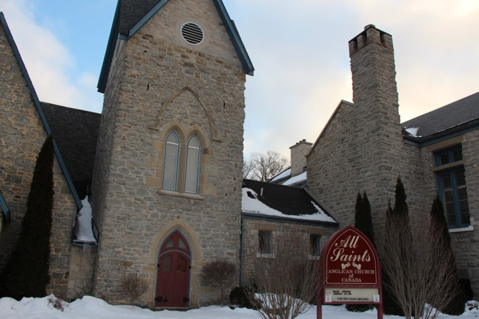 All Saints' Anglican Church has a long and storied history dating back to 1855.