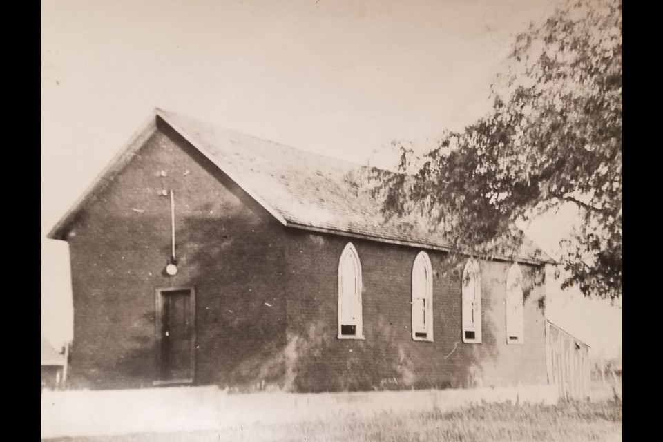 One of the previous Heritage Church buildings.