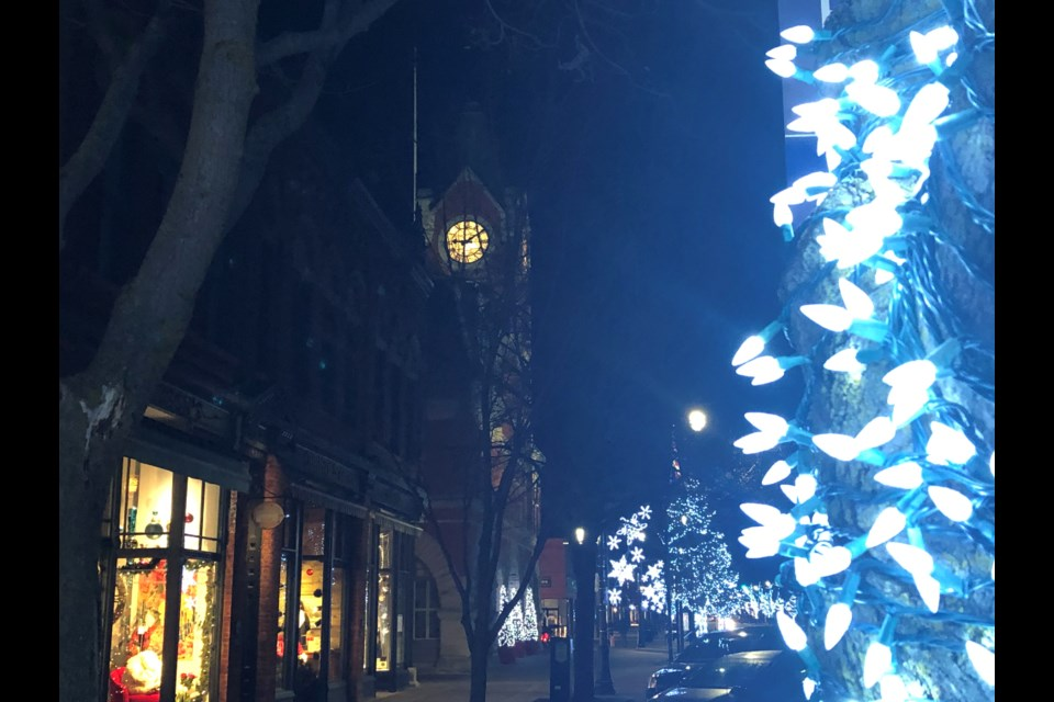 The Collingwood Downtown BIA had been planning a 2020 overhaul of its Christmas decorations for a long time. Erika Engel/CollingwoodToday