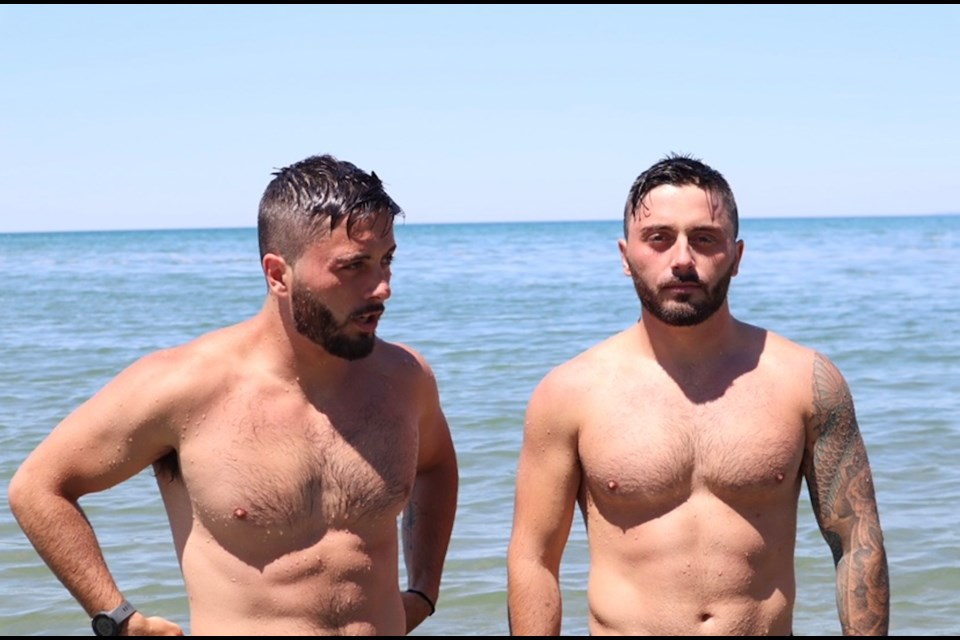 For the past six months, the 23-year-old twins from Wasaga Beach have been training to tackle the GB32 to raise money and awareness for youth mental health. Contributed photo