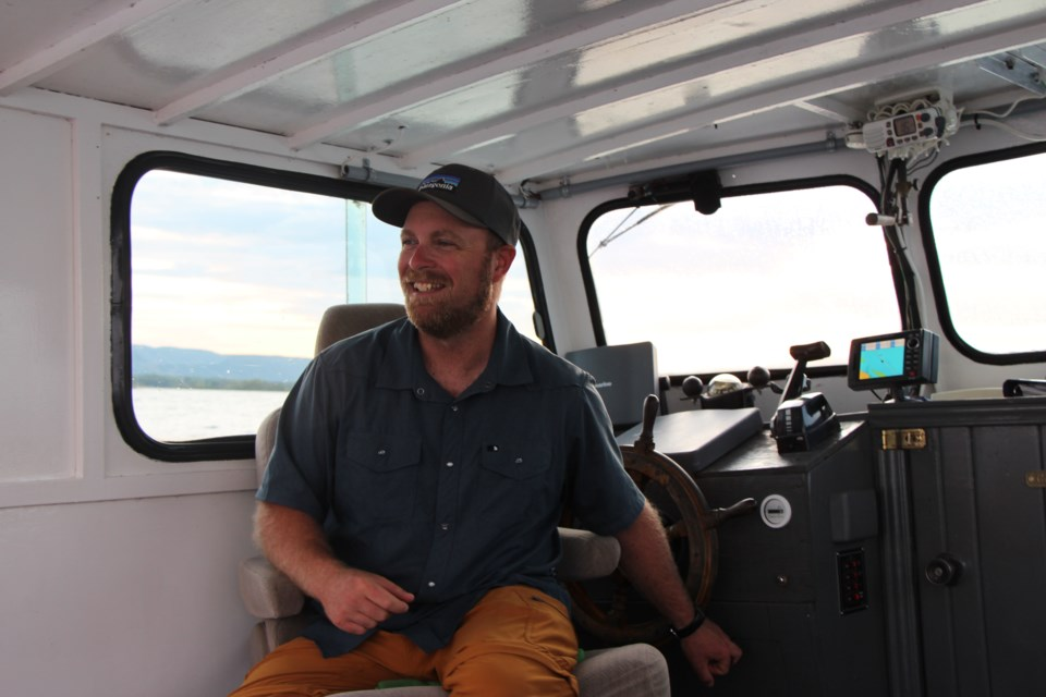 Kevin Johnston is the owner of and guide for Collingwood Adventure Voyages and OSM Adventure Tours