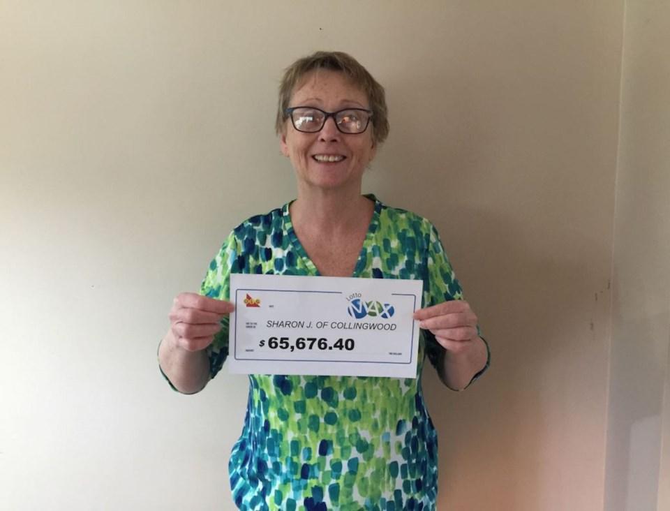 202104-22 - Lotto Max_November 6, 2020_65,676_Sharon Jungkind of Collingwood