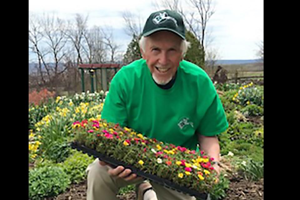 IMG_0302 John Hethrington, Past President, Master Gardeners of Ontario