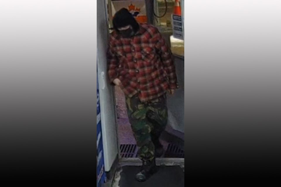 Hume Street gas station robbery suspect